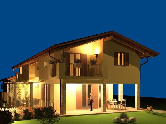 Rif. 344 – Porzione di Villa bifamiliare in vendita a Boca