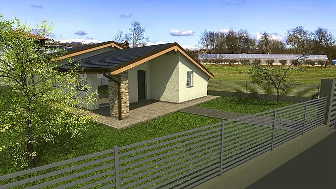 Rif. 2111 – Villa nuova in vendita a Borgomanero (NO)